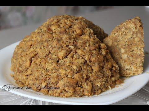 Как сделать торт муравейник рецепт из печенья в домашних условиях