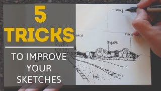 5 Tricks to Make Your Sketches Look Better