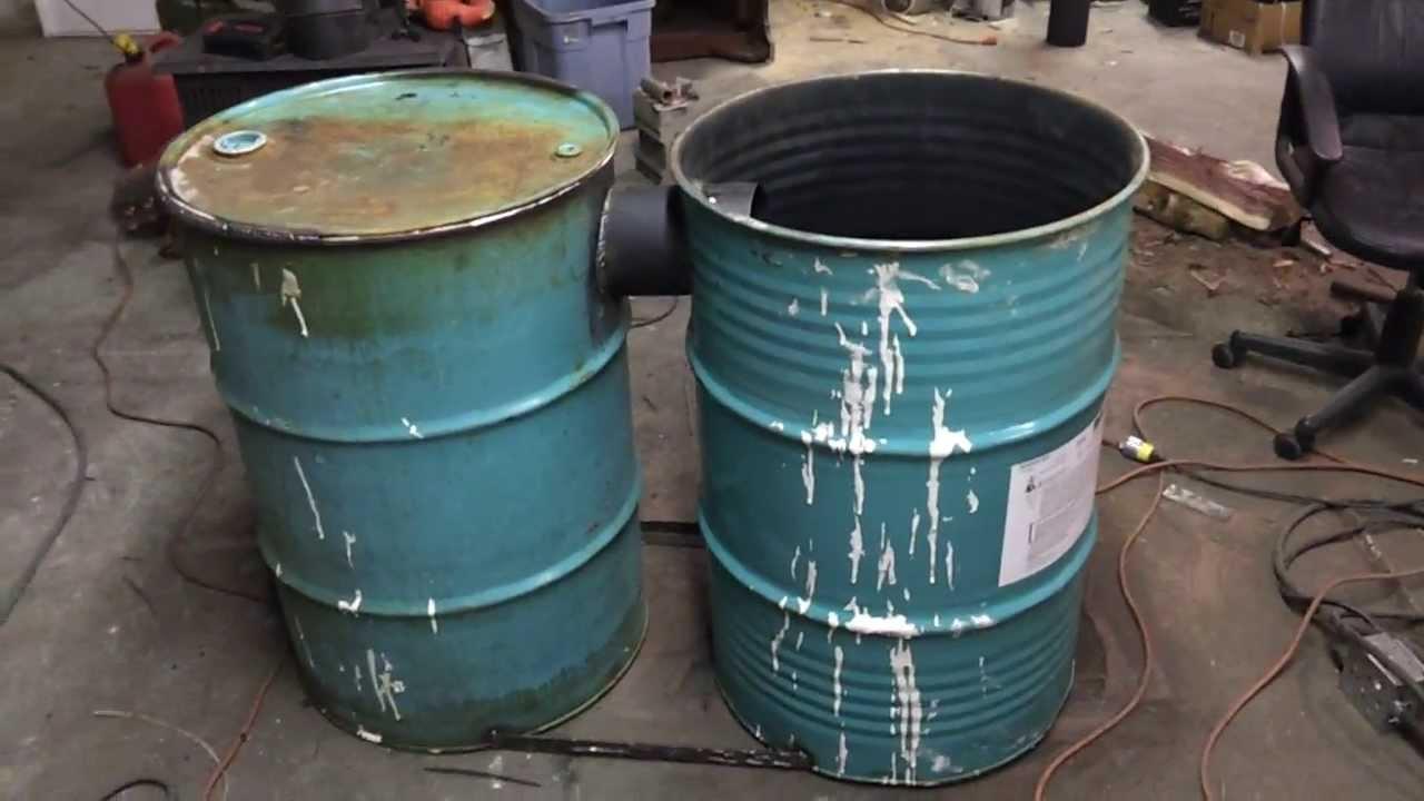 Barrel Stove Build No Kit Part 1 Youtube