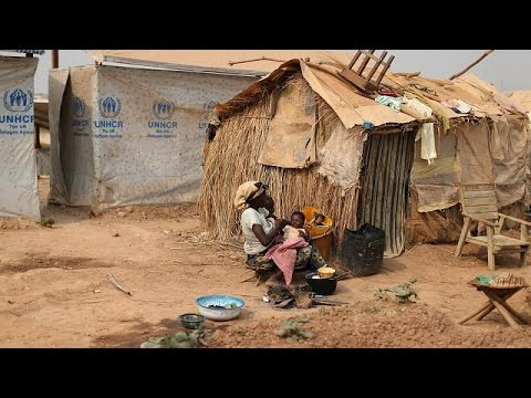 CAR: 100s of displaced persons live in sour conditions