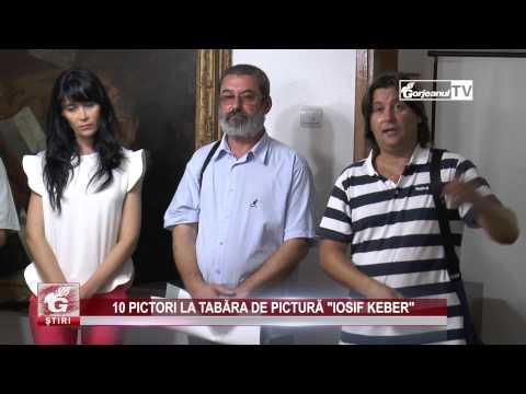 "10 PICTORI LA TABĂRA DE PICTURĂ ""IOSIF KEBER"""