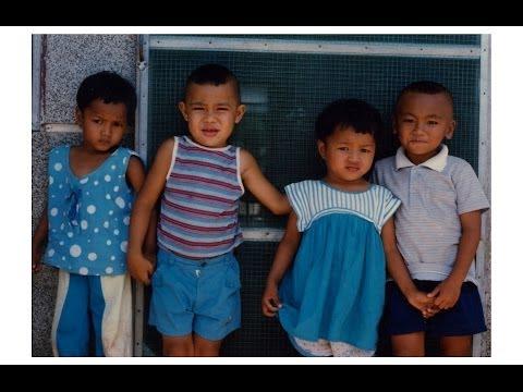 Orphans in The Philippines, Samar, Leyte, Tacloban, Manila 1989