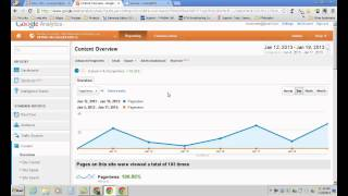 Intro to Google Analytics for Business Professionals - Evergreen Park Library (Jan 19, 2013)