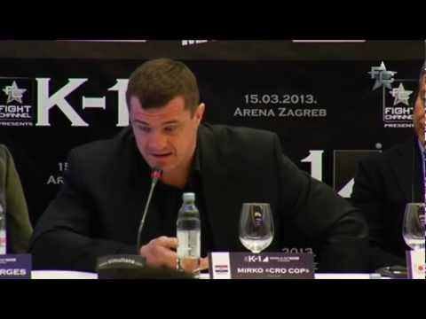 K-1 World GP Final 2013 Zagreb - Press Conference 2/2
