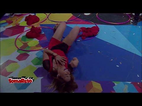 ¿Cómo terminó Gaby en el piso?