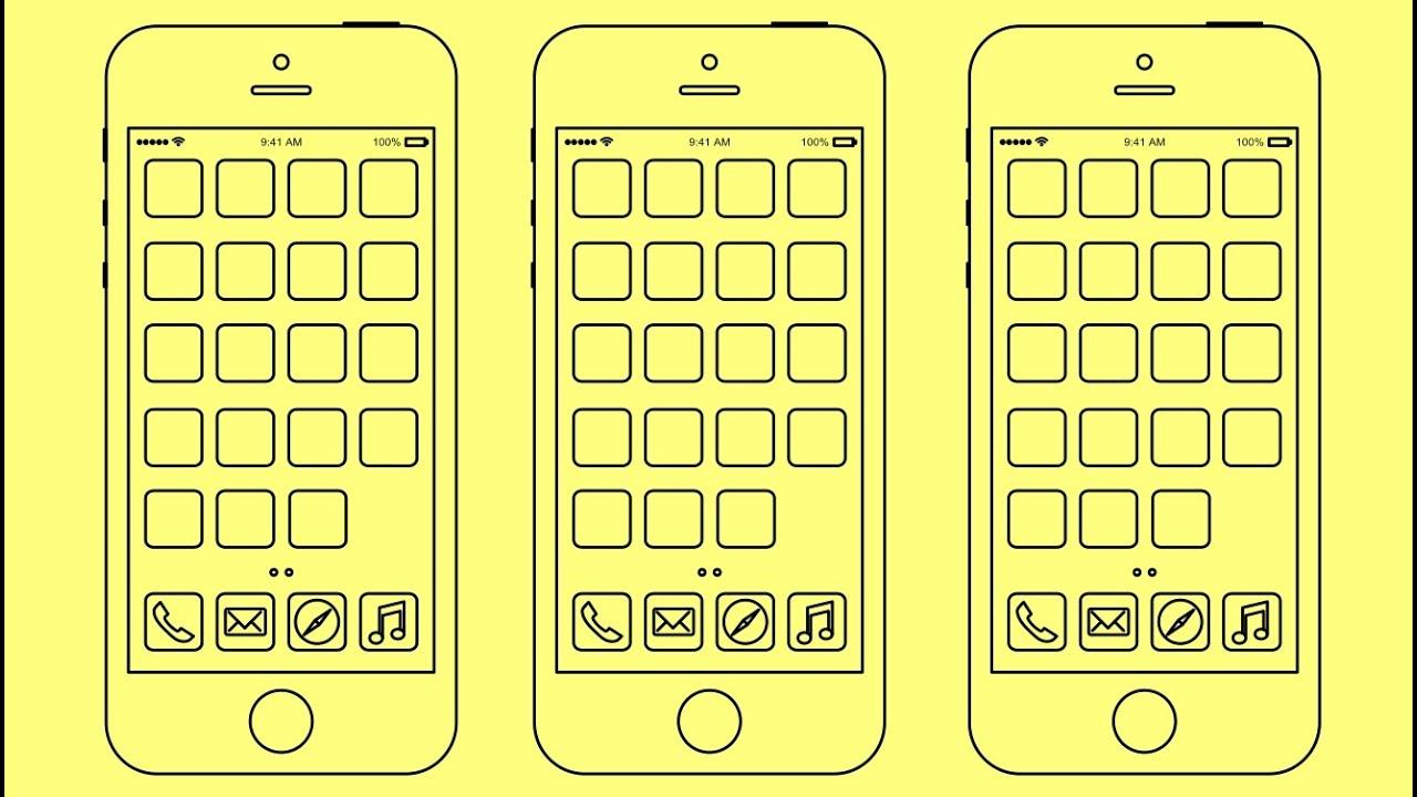Рисунки iphone 6
