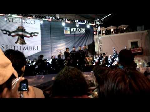15 de septiembre, zócalo de Atlixco Puebla