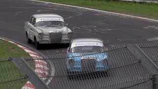 Racing a Mercedes 220 Fintail Sedan at the Nürburgring with David Coulthard — /CHRIS HARRIS ON CARS