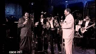 """Bobby""""Blue""""Bland on Malaco Records on CACE INT'L TV (2n part/2nd show)"""