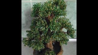 Дерево из бисера Урок № 1