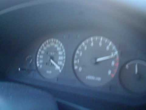 My Mitsubishi Galant V6 on Autobahn in germany. i was not on top speed.but i