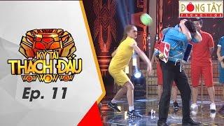GAME THỬ THÁCH LIÊN HOÀN | KỲ TÀI THÁCH ĐẤU | TẬP 11 (27/11/2016)