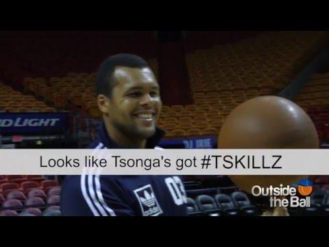 Jo-Wilfried Tsonga's Got Basketball SKILLZ