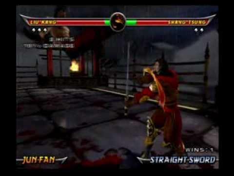 Mortal kombat shang tsung vs liu kang - photo#23