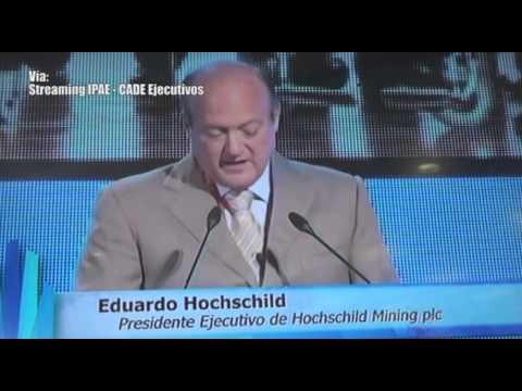Discurso de Eduardo Hochschild, CEO de Hochschild Mining y Cementos Pacasmayo, en CADE 2013