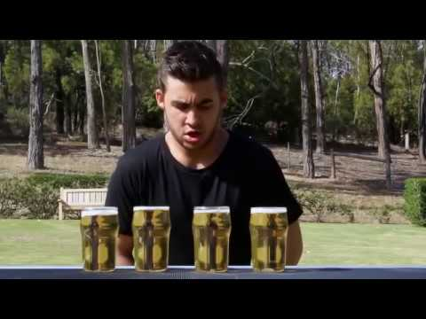 Guy Drinks 4 Pints of Beer in World Record Time (Original)