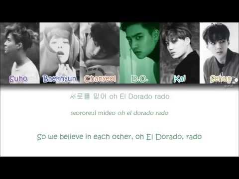 EXO - El Dorado (Korean ver.) (Color Coded Han Rom Eng Lyrics)