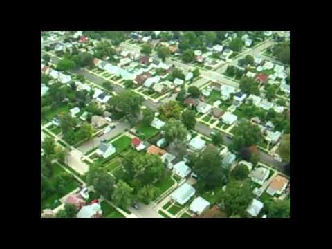 RC plane aerial video of Balduck Park and neighborhood
