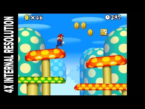 DeSmuME X432R Emulator | New Super Mario Bros. [1080p HD] | Nintendo ...