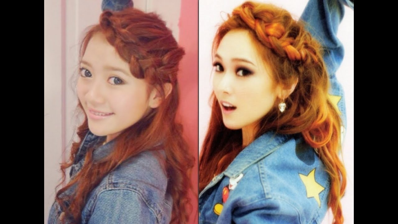 SNSD Jessicas Hair I Got A Boy Tutorial YouTube