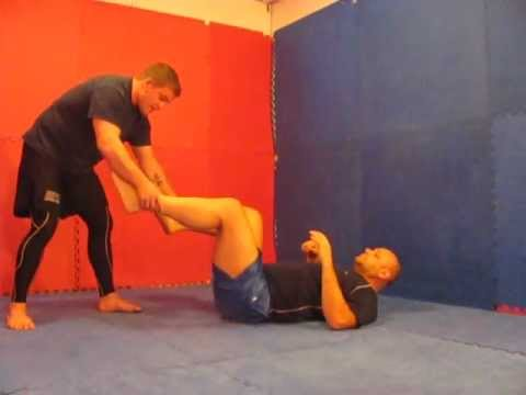 Standing Leg Pass  to Leg Locks - grappling - wrestling Image 1