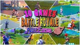 10 Games Battle Royale by Netease in 2018 (Android/IOS)