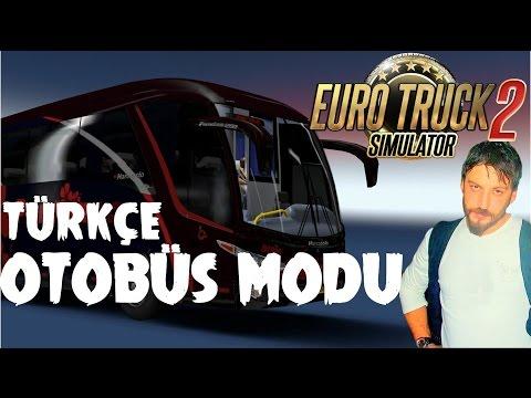 Euro Truck Simulator 2 Türkçe | Çift Katlı Otobüs Modu İncelemesi