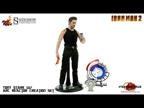 Video Review of the Hot Toys Tony Stark w/ Arc Reactor Creation Accessories