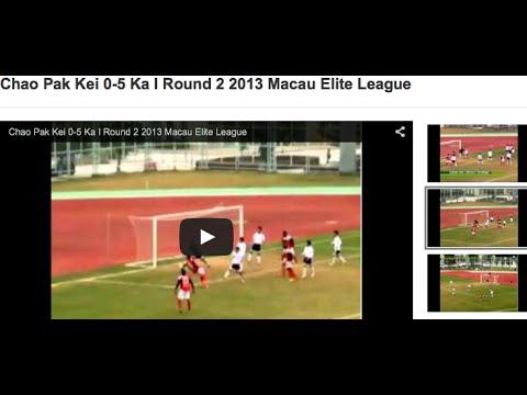 Chao Pak Kei 0-5 Ka I Round 2 2013 Macau Elite League