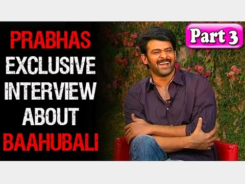 Baahubali Prabhas: Video Leakage Controversy was Painful | Exclusive Interview | Part 3