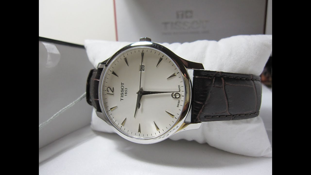 Tissot Tradition Silver Tissot Tradition T063.610.16