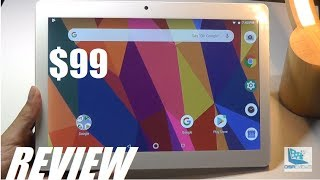 """REVIEW: Dragon Touch K10, 10.1"""" Budget Android Tablet ($99)"""