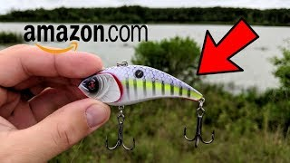 CRAZY Amazon Crankbait Fishing Challenge (Does it Work?)