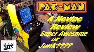 Walmart Exclusive 1up Pac-Man Machine - A Novice Review