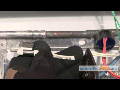 Refrigerator Temperature Sensor (part #WR55X10025)-How To Replace