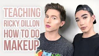 Download Lagu TEACHING RICKY DILLON HOW TO DO MAKEUP! Gratis STAFABAND