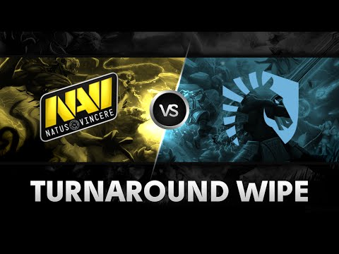 Turnaround wipe by Na`Vi vs Liquid @ The International 2014