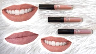 Makeup Forever Artist Liquid Matte Lipsticks || Lip Swatches & Wear Test