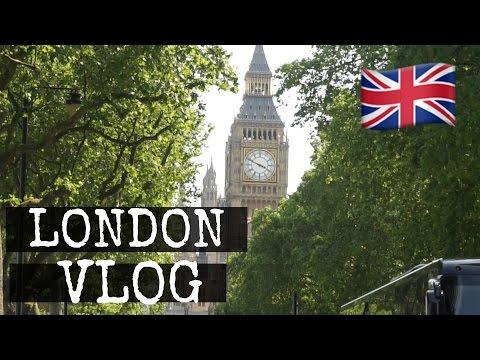 VLOG: My First Time in London | Cydnee Black