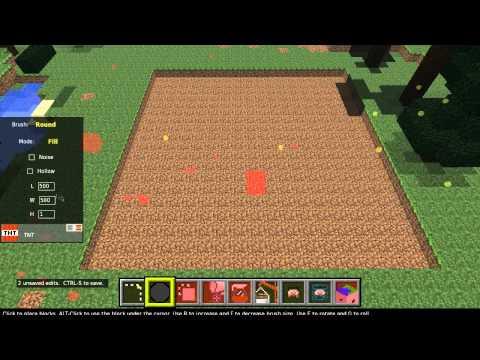 Como editar seu mapa de MineCraft com o MCEdit.