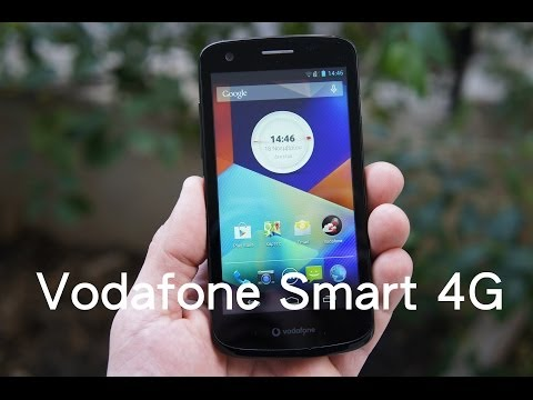 Vodafone Smart 4G hands-on (Greek)