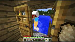 "Minecraft: ""Survival"" Attempt w/ Luciee Part 5 - Dayum Creeper; Yous Scary"