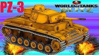 WoT Blitz - Как правильно прокачать PZ-3 обзор немецкая ветка - World of Tanks Blitz