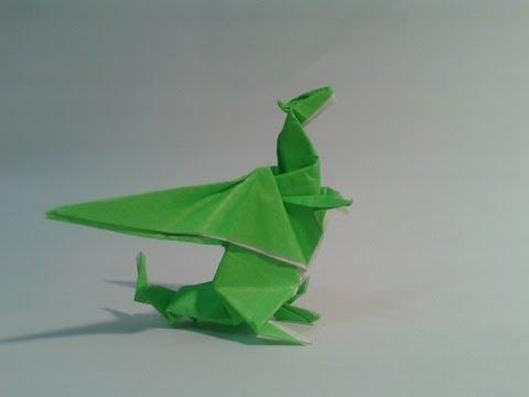 Como hacer un dragon de papel (Gilad Aharoni) - YouTube