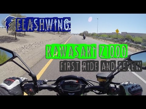 2015 Kawasaki Z1000 - Test Ride Review