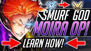 SMURF MOIRA - Pro Gameplay Tips Guide | Overwatch Guide