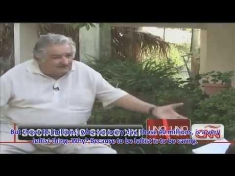 Uruguayan President Pepe Mujica on socialism. CNN interview. English subtitles