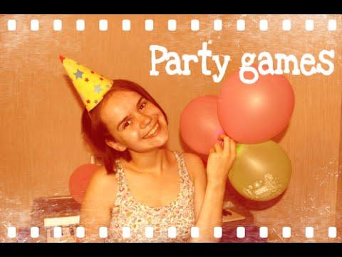 Игры для вечеринок / как развлечь гостей