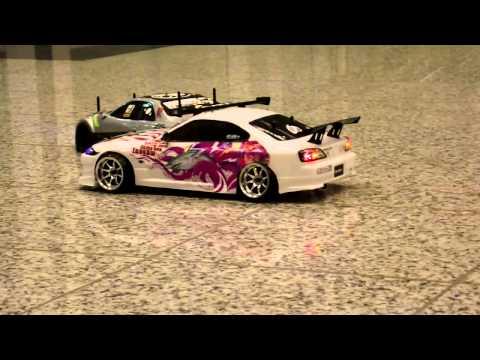 [RC DRIFT] Nissan Silvia S15 vs. Nissan Skyline r34