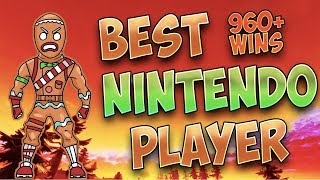Fortnite Best Nintendo Switch Player 960+ Wins (NEW Infinity Blade, High Kills!)